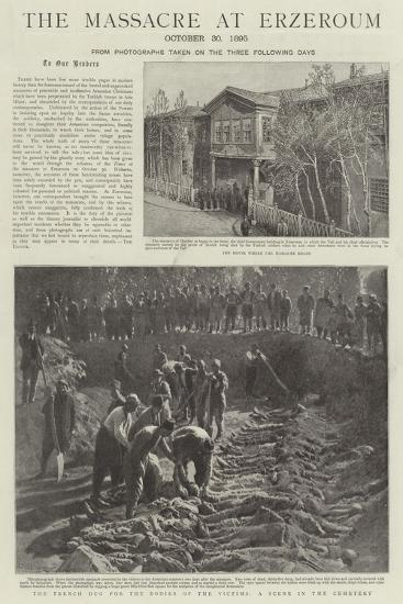 The Massacre at Erzeroum--Giclee Print