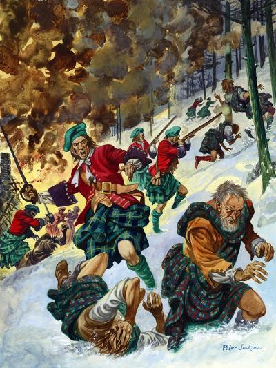 The Massacre of Glencoe-Peter Jackson-Giclee Print