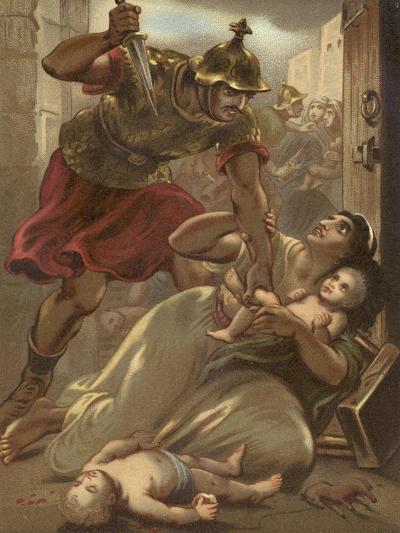 The Massacre of the Children at Bethlehem--Giclee Print