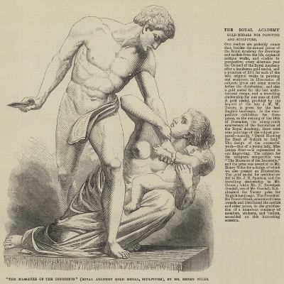The Massacre of the Innocents (Royal Academy Gold Medal, Sculpture), by Mr Henry Wiles--Giclee Print