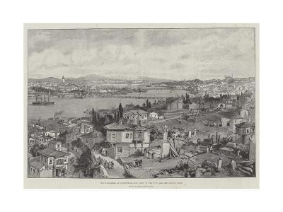 The Massacres at Constantinople, View of the City and the Golden Horn-William 'Crimea' Simpson-Giclee Print