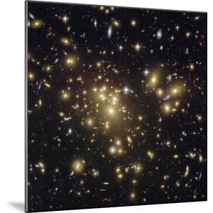 The Massive Galaxy Cluster Abell 1689 Shows Light from More Distant Galaxies