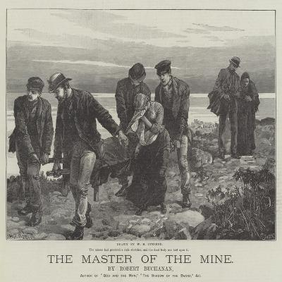 The Master of the Mine-William Heysham Overend-Giclee Print