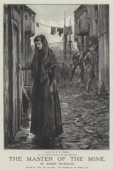 The Master of the Mine-William Heysham Overend-Giclee Print