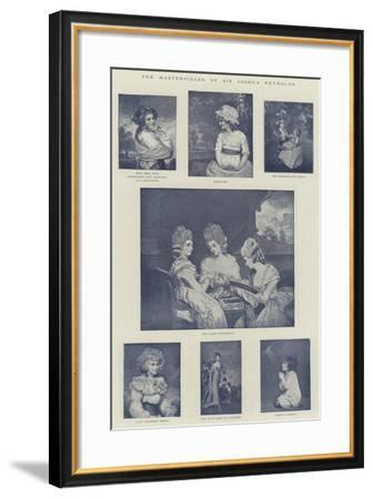 The Masterpieces of Sir Joshua Reynolds--Framed Giclee Print