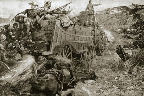 The Matabele War, 1893 (1901)-Unknown-Giclee Print