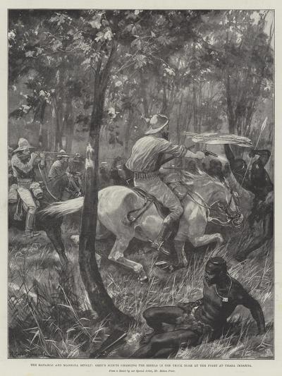 The Matabili and Mashona Revolt-Richard Caton Woodville II-Giclee Print