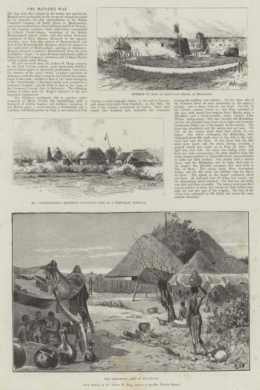 The Matabili War-Charles Auguste Loye-Giclee Print