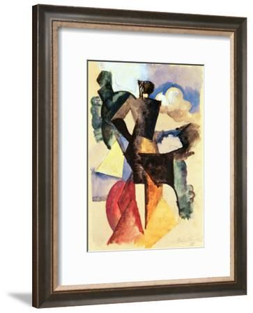 The Matador-Roger de La Fresnaye-Framed Giclee Print