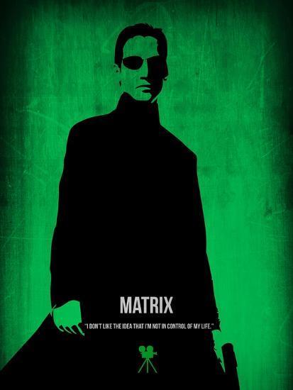 The Matrix Neo-NaxArt-Art Print