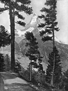 The Matterhorn as Seen from the Riffel Path, the Alps, 20th Century