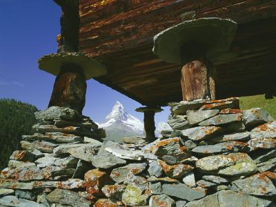 The Matterhorn Mountain (4478M) from Findeln, Valais (Wallis), Swiss Alps, Switzerland, Europe-Hans Peter Merten-Photographic Print