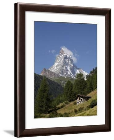 The Matterhorn Near Zermatt, Valais, Swiss Alps, Switzerland, Europe-Hans Peter Merten-Framed Photographic Print