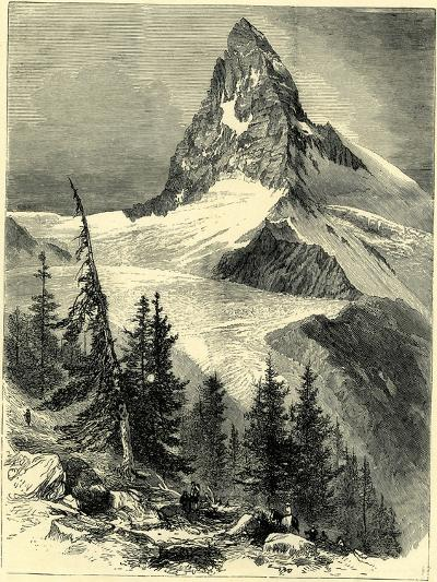 The Matterhorn Switzerland--Giclee Print