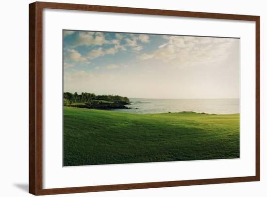 The Mauna Kea Golf Course on Hawaii-Macduff Everton-Framed Photographic Print