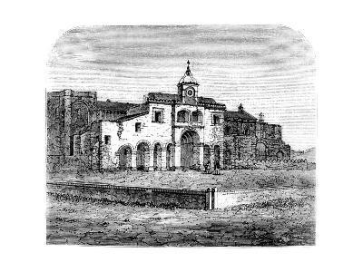 The Mausoleum of Columbus, Santo Domingo, 1873--Giclee Print