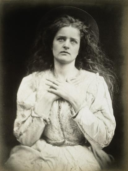 The May Queen-Julia Margaret Cameron-Photographic Print