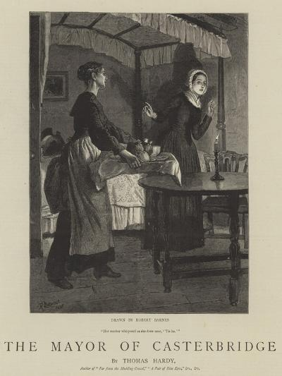 The Mayor of Casterbridge-Robert Barnes-Giclee Print