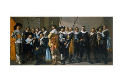 The Meagre Company, 1637-Frans I Hals-Giclee Print