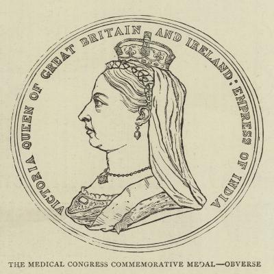 The Medical Congress Commemorative Medal, Obverse--Giclee Print