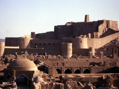 The Medieval Fortress of the 2,000 Year-Old City of Bam, Iran, September 2003-Franco Fracassi-Photographic Print
