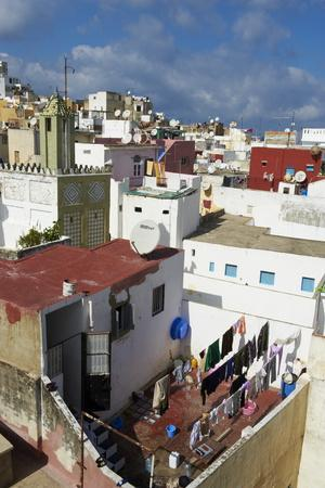 The Medina (Old City), Tangier, Morocco, North Africa, Africa Photographic  Print by Bruno Morandi | Art com
