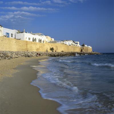 The Medina Walls, Hammamet, Cap Bon, Tunisia, North Africa, Africa-Stuart Black-Photographic Print