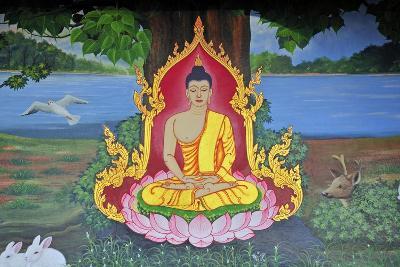 The Meditating Buddha--Giclee Print