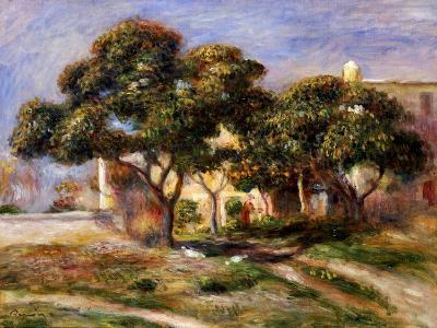 The Medlar Trees-Pierre-Auguste Renoir-Giclee Print