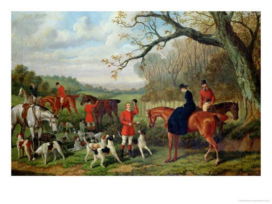 The Meet, 1881-Edward Benjamin Herberte-Giclee Print