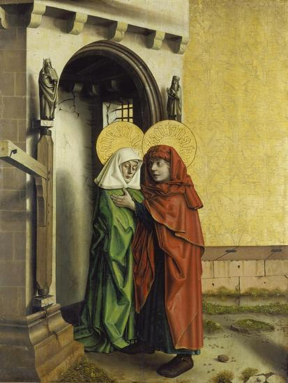 The Meeting of Anna and Joachim at the Golden Gate, C. 1440-Konrad Witz-Giclee Print