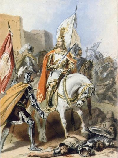 The Meeting of Emmanuel and Captain Credence-Gustav Bartsch-Giclee Print