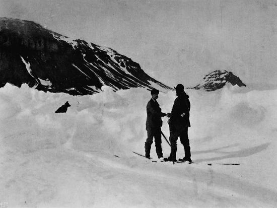 'The Meeting of Jackson and Nansen', c1893-1896, (1897)-Unknown-Photographic Print