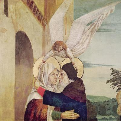The Meeting of St. Anne and St. Joachim at the Golden Gate, C.1499-Nicolas d' Ypres-Giclee Print