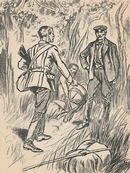 'The Meeting of Stanley and Livingstone', c1907-Unknown-Giclee Print