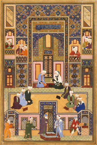 The Meeting of the Theologians, 1537-1550- Abd Allah Musawwir-Giclee Print
