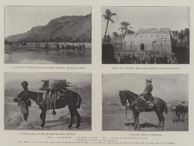 The Mekran Expedition in Perso-Baluchistan--Giclee Print