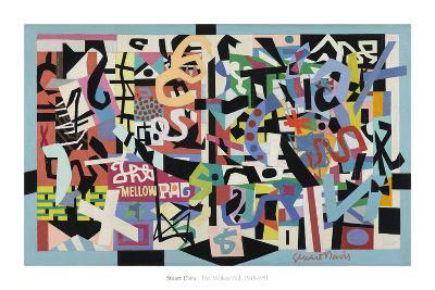 The Mellow Pad, 1945-1951-Stuart Davis-Art Print