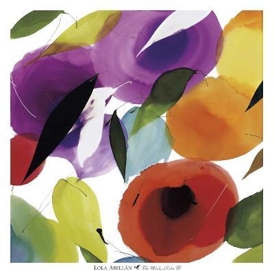 The Melody of Color II-Lola Abellan-Art Print