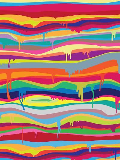 The Melting-Joe Van Wetering-Art Print