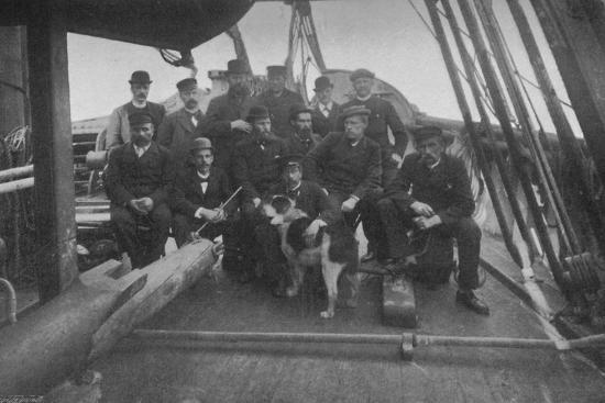 'The Members of the Expedition, after their Return to Christiania', c1893-1896, (1897)-Unknown-Photographic Print