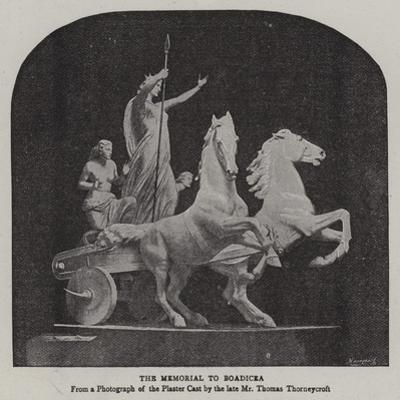 The Memorial to Boadicea