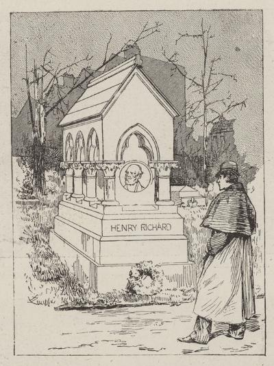 The Memorial to the Late Henry Richard--Giclee Print