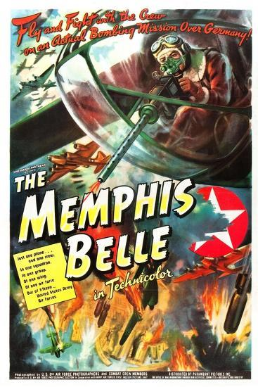 The Memphis Belle- US Air Force-Art Print