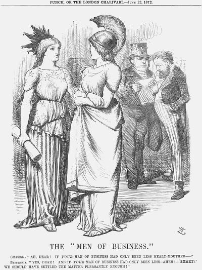 The Men of Business, 1872-Joseph Swain-Giclee Print