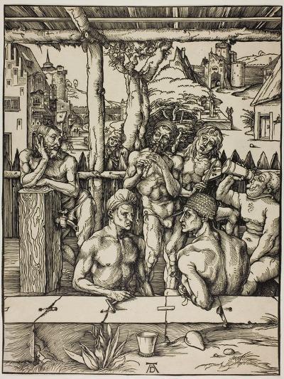The Men?S Bath, C. 1496-Albrecht D?rer-Giclee Print