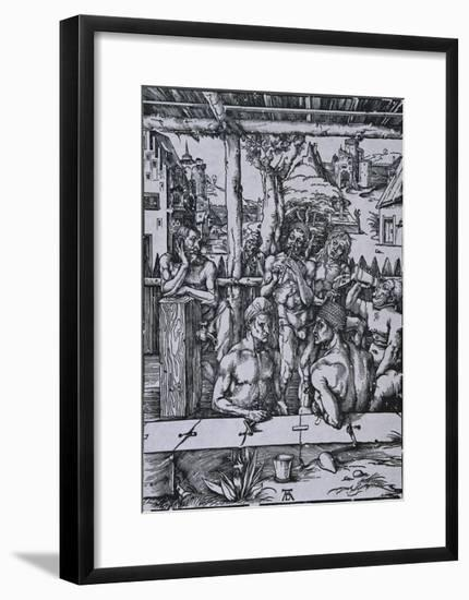 The Men's Bath-Albrecht Dürer-Framed Art Print