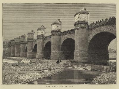 The Mercado Bridge--Giclee Print