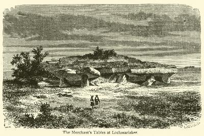 The Merchant's Tables at Lochmariaker--Giclee Print
