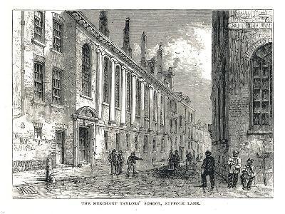 The Merchant Taylors School, Suffolk Lane, 1878-Walter Thornbury-Giclee Print